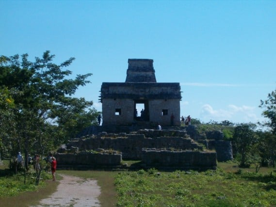 Dzibilchaltun Mayan Ruins - Mexico Yucatan