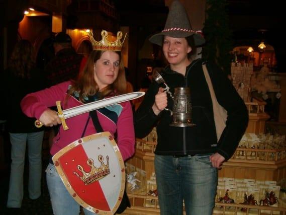Fun hats and props at Epcot, Disney World