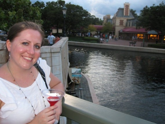 Have a drink in Paris? Or Epcot at Disney World!