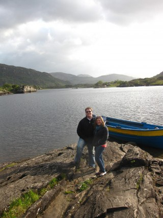 Photo stop while driving through Killarney National Park, Ireland