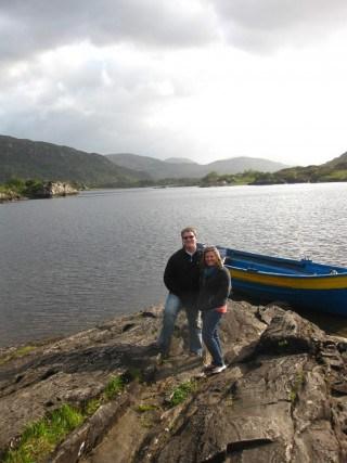 Photo stop while driving through Killarney National Park, Ireland