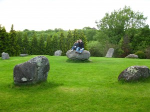 Ancient Stone Circle - Kenmare, Ireland