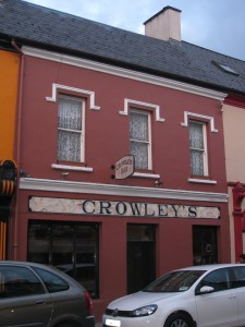 Crowley's Bar, Kenmare, Ireland - Where we Met Sheila!