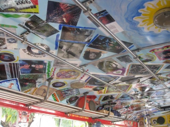 Decorated Marley Bus
