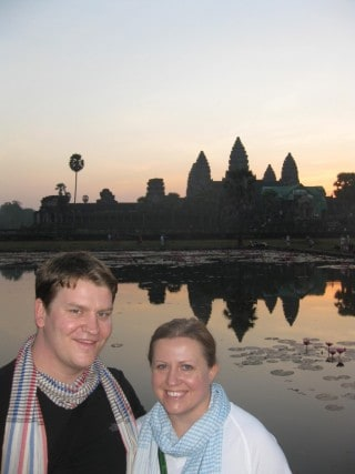 The Sunrise of a Lifetime:  At Angkor Wat, Cambodia