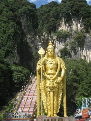 Made it to Batu Caves!