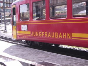 Train to the top of the Jungfrau