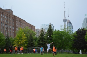 Across from Distillery District - Park with a View - Toronto Canada