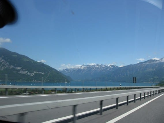 Driving in Switzerland, nice roads and great scenery