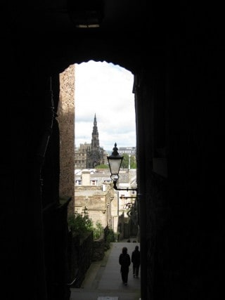Views in Edinburgh, Scotland