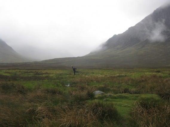 Running through the Highlands
