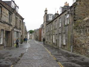 Old St. Andrews Streets