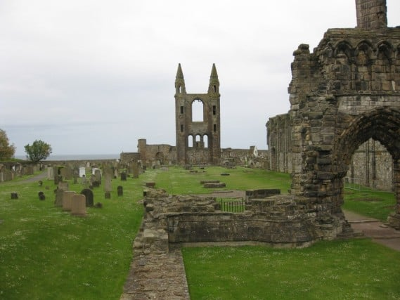 St Andrews, Scotland St. Mary's Chapel Ruins