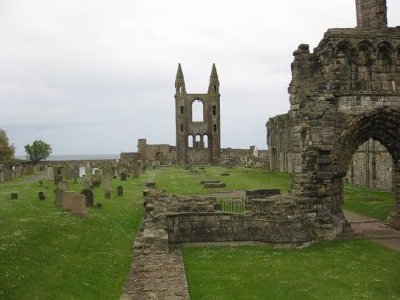St Andrews, Scotland St. Mary's Chapel Ruins