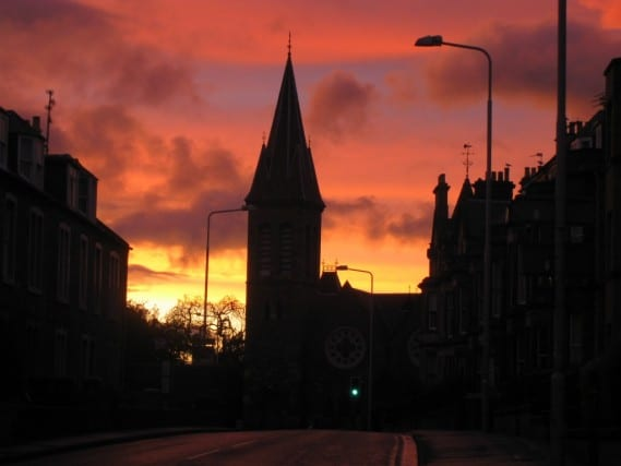 St. Andrews Sunset, scotland