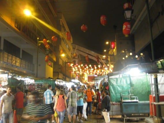 chinatown, night market, Kuala Lumpur, Malaysia, KLCC