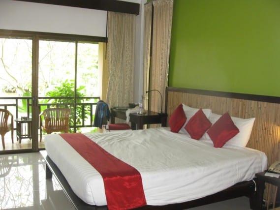 Railay Beach, Princess resort & spa, Thailand, Krabi, room with a water view, peanuts or pretzels travel blog