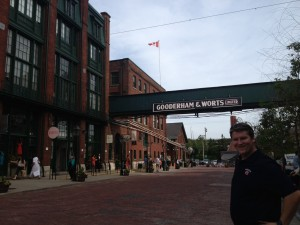 Welcome to the Distillery District, Toronto Canada