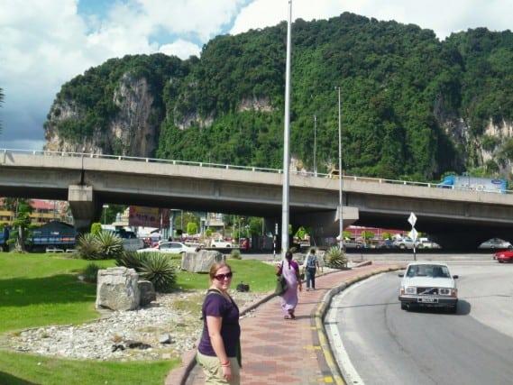 Batu caves, malaysia, kuala lumpur, bus ride