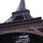 Eiffel tower paris france, hike stairs to top, europe, vacation, backpacking, peanuts or pretzels travel blog