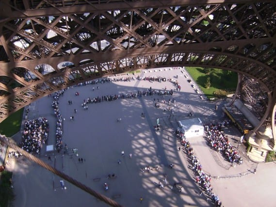 The Unconventional Route up the Eiffel Tower – Taking the Stairs!