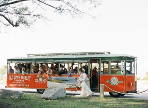 old town trolley key west, florida, wedding at fort zachary state park, married in key west, peanuts or pretzels travel blog
