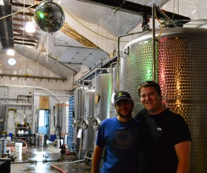 A private tour with our friend Aaron at French Broad Brewery Asheville