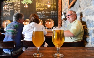 Asheville, Brew, French Broad, Peanuts or Pretzels, beer, north carolina, beer tour, napa valley