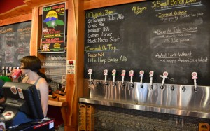 What's on tap at highland brewery in Asheville