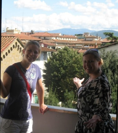 what is a hostel, Florence, italy , hostel, Travel, Adventure, Peanuts or Pretzels, misconceptions, balcony, view