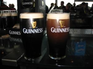 Guinness, Guinness Storehouse, beer, pour, Dublin, Ireland, Gravity Bar, Black stuff, brewery, peanuts or pretzels, fun travel