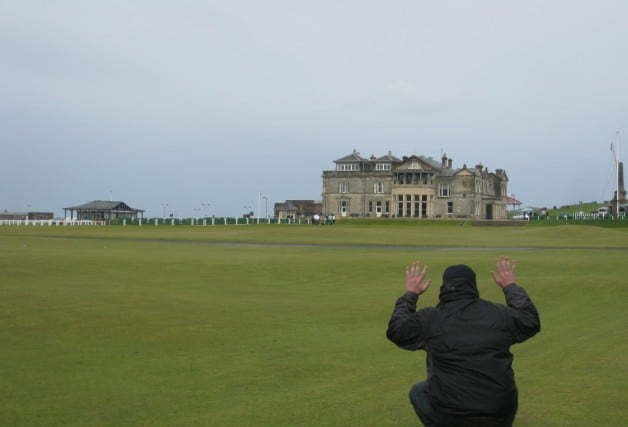 Scotland, St. Andrews, history, golf, putting, the himalayas, home, pga tour, British Open, Peanuts or Pretzels