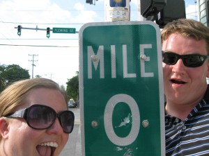 mile marker zero, mile marker 0, key west florida, miami to key west drive
