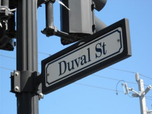 Duval street, duval crawl, key west florida, vacation, road trip, peanuts or pretzels travel blog