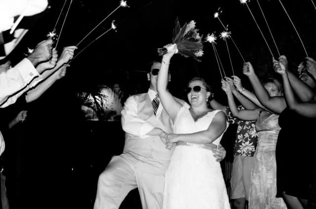 wedding reception entrance, key west florida wedding, married in key west, wedding at old town manor, reception at old town manor, peanuts or pretzels travel blog