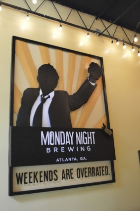 monday night Brewing, Atlanta, church, night, monday brew, craft beer, beer, georgia, peanuts or pretzels, beer tour, tour,