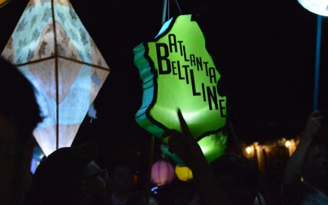 Lights, Lanterns & Music – at the Atlanta BeltLine Lantern Parade