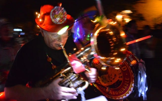 Lantern parade, atlanta, beltline, parade, night, creative, peanuts or pretzels, piedmont park, walking,