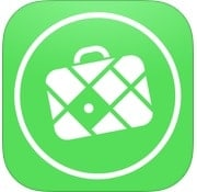 mapsme travel app icon - one of our favorite travel apps for mapping
