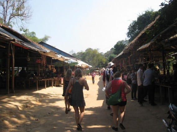 Tom, Cambodia, Phnom Kulen, Guide, Tour, Van, Adventure, Peanuts or Pretzels, culture, beyond the postcard, waterfalls,