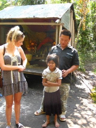 Tom, guide, Cambodia, journey, travel, beyond the postcard, friend, Phnom Kullen, waterfall, culture, living, van, rural, hostel, Siem Reap, Angkor Wat