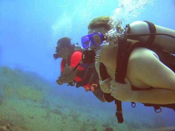 Scuba, dive, Scuba diving, Paa Mul, Mexico, sea turtle, first time, snorkel, trainer, water, scubamex, dive center, turtle, peanuts or pretzels, travel, bucket list, geocaching