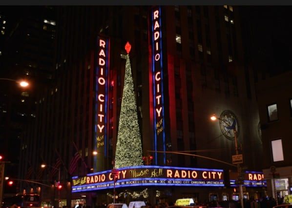 radio city music hall, christmas shows in new york, holiday shows in new york, rockettes show in new york, christmas rockettes show, christmas in new york