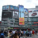 dundas square, things to do in toronto, downtown toronto canada, visit toronto, toronto nightspots