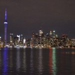 view of toronto skyline, toronto skyline at night, view from toronto island, things to do in toronto, toronto island park, things to see in toronto