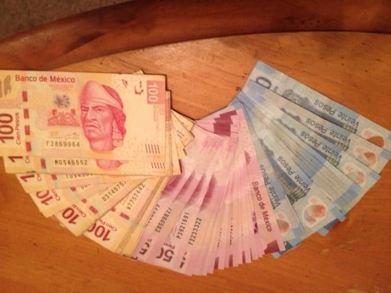 Mexican Pesos Currency