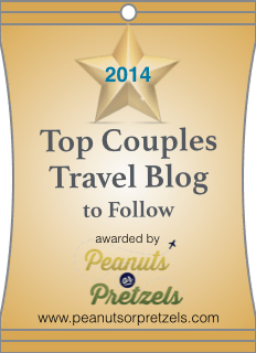 couple Travel blog, couples travel blog, couple travels blogs, 2013, 2014, peanuts or pretzels, latitude 34 travel blog, turtles travel, mapping megan, green global travel, the wonder nuts, ordinary travelers, 1000 fights, beers and bean, living the journey, follow, top bloggers, peanuts or pretzels