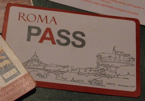 We decided to purchase the Roma Pass in Rome!