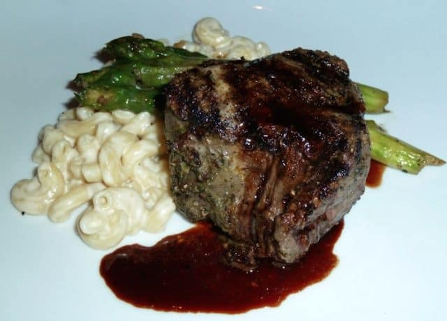 At Jiko - the filet with red wine sauce & macaroni and cheese is simply heaven!