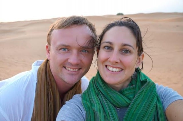 With Husband in Tow, Love of Travel Series, Peanuts or Pretzels, interview, couples travel, Eric & Amber, nomadic life,